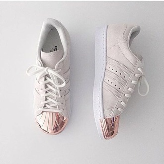 shoes pink white toe adidas