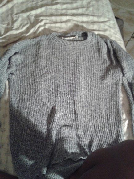sweater grey le tigre usa