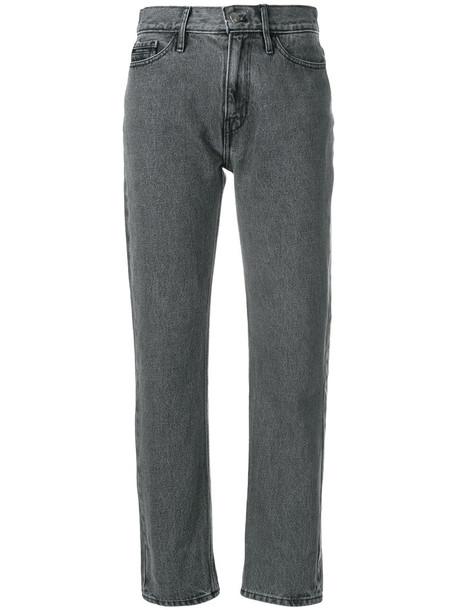 Ck Jeans jeans cropped women cotton grey