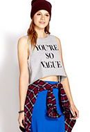 You're So Vague Tank | FOREVER21 - 2000088698