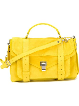 satchel yellow orange bag