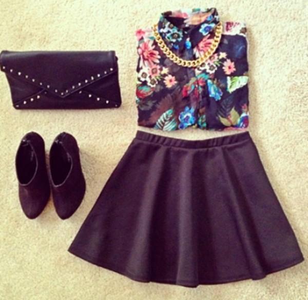 tank top blouse floral sleevless shirt