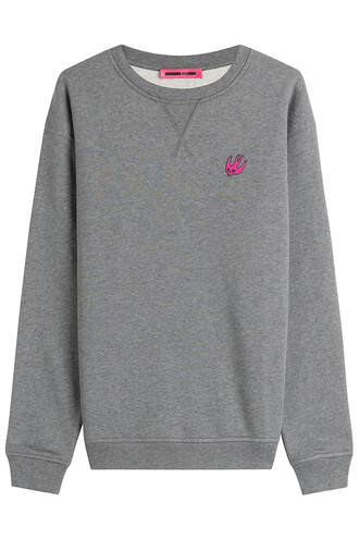 sweatshirt cotton grey sweater