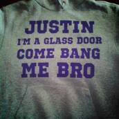 sweater,justin,glass,door,purple,bang,bro,justin bieber,skreened