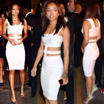 White cutout bodycon dress · summah breeeze · online store powered by storenvy