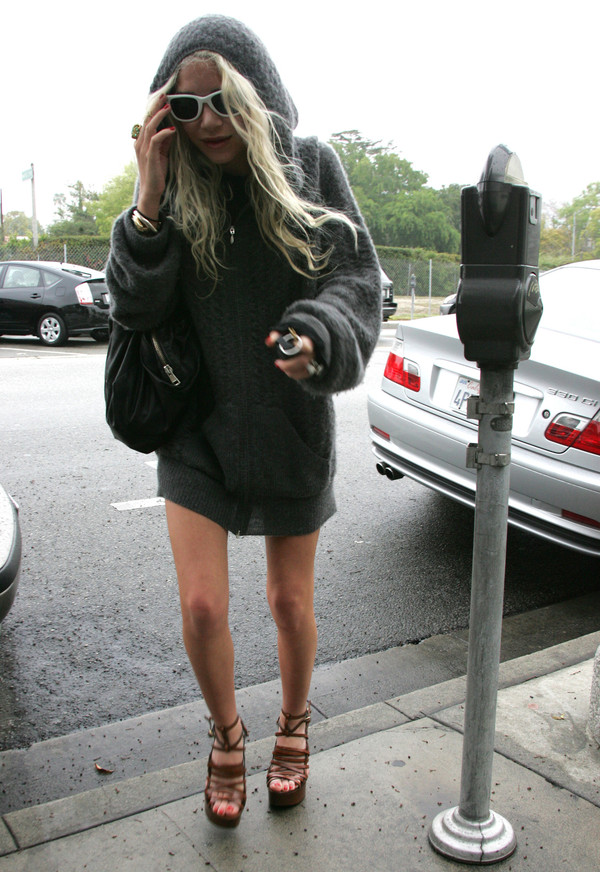 jacket mary kate olsen shoes