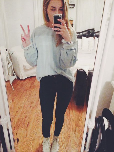 Sweater Tumblr Tumblr Girl Tumblr Clothes Tumblr