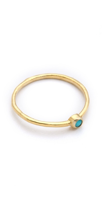 Jacquie aiche ja turquoise waif ring