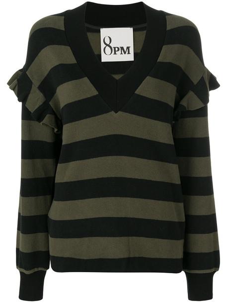 pullover women spandex cotton black sweater