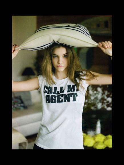 barbara palvin t-shirt victoria's secret model