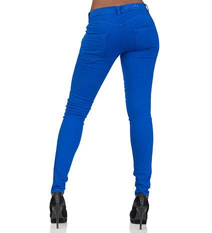 ESSENTIALS Jeans Blue 5 PKT COLORED DENIM SKINNY JEAN - Jeans and Dresses - Man Alive