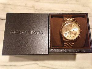 Michael Kors Collection MK5556 Vintage Classic Lexington Chronograph Gold 069146479927 | eBay