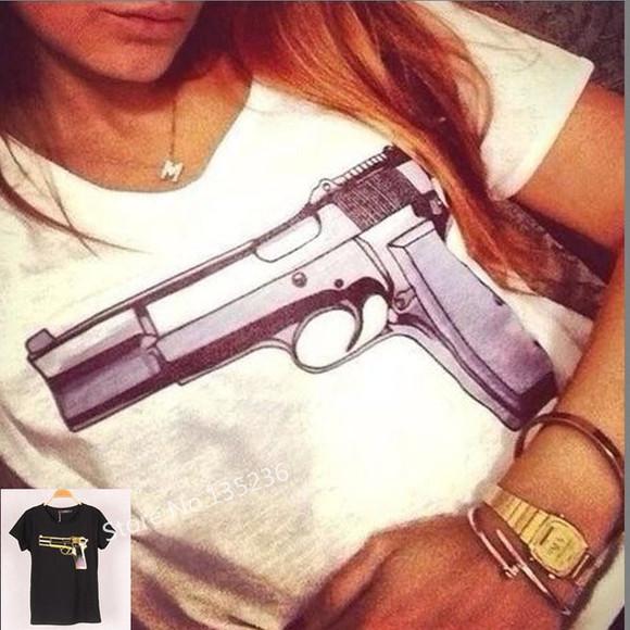 t-shirt arme t-shirt blanc