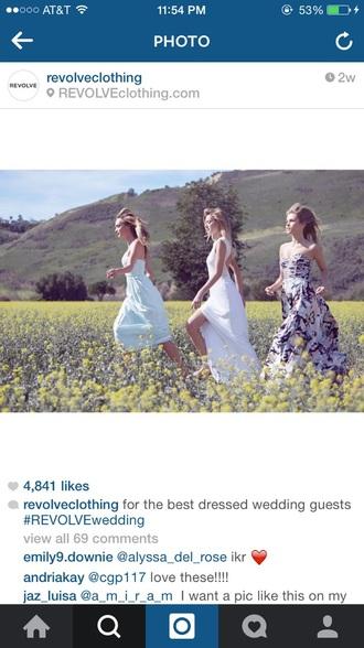 dress revolve clothing maxi dress strapless dresses