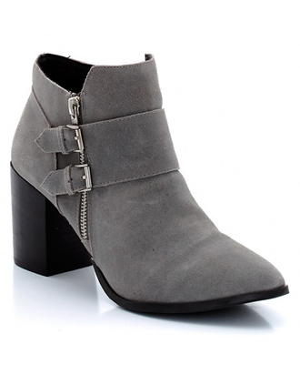 josefin dahlberg blogger shoes suede boots grey boots