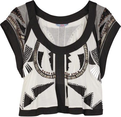 Sass & Bide Ava Grace Cropped Top in Black   Lyst