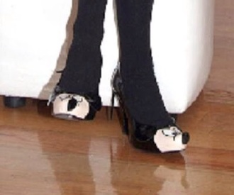 shoes belinda mickey mouse