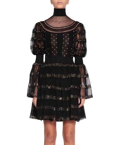 Alexander Mcqueen dress silk dress silk
