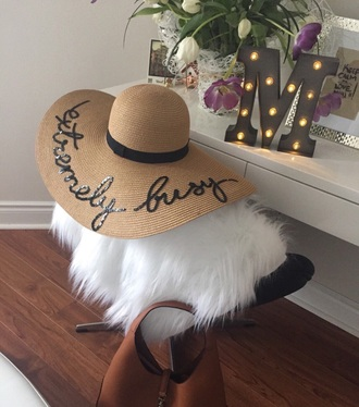 hat floppy hat sun hat straw hat summer accessories holiday season holiday gift gift ideas mothers day gift idea customized beach hat