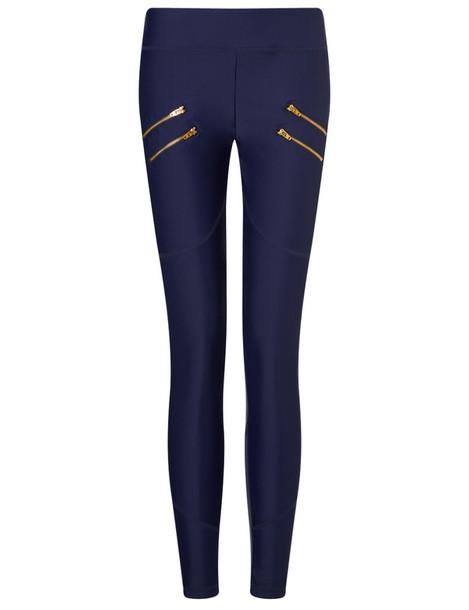 Varley leggings zip navy