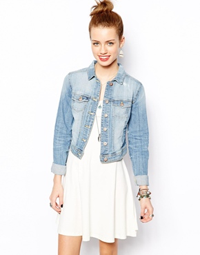 New Look | New Look Denim Jacket at ASOS