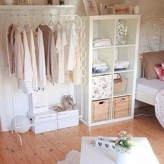 home accessory white clothes rack clothes home decor shelves shelving room accessoires blouse closet
