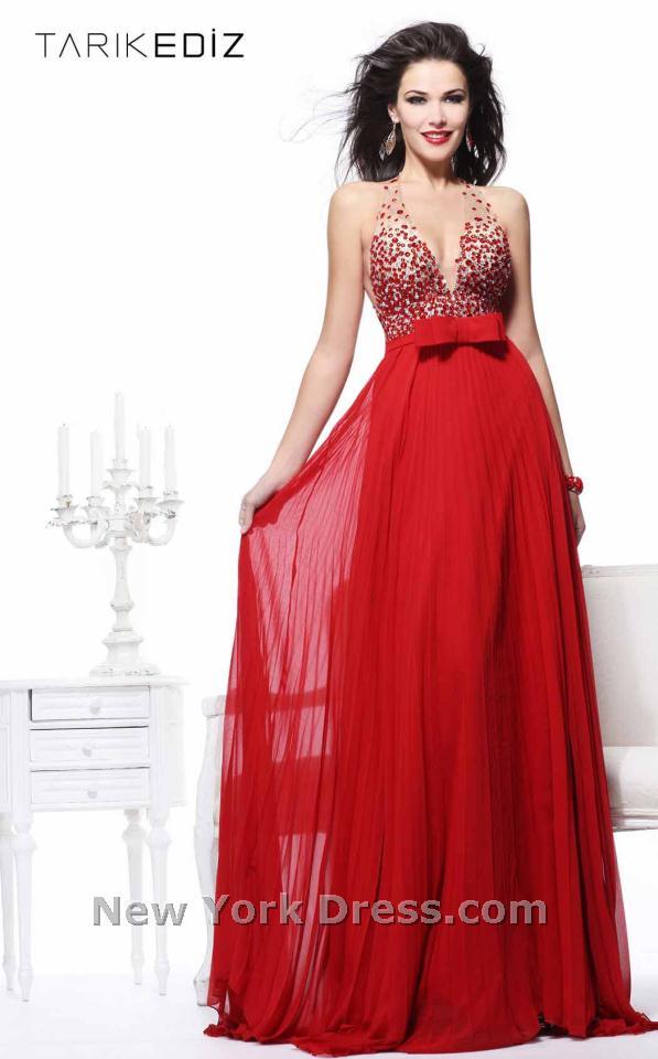 Tarik Ediz 92184 Dress - NewYorkDress.com