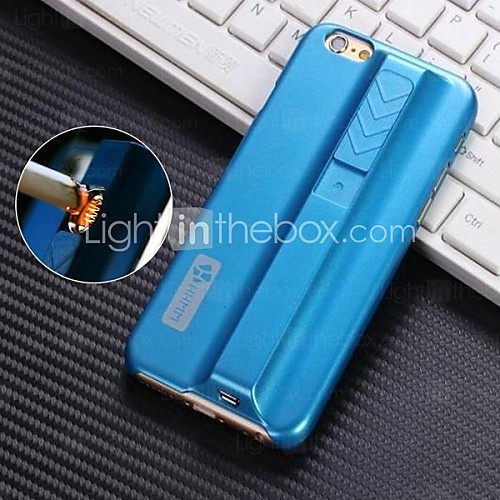 USD $ 13.99 - HHMM Solid Color Special Design Lighter Case for iPhone 6(Assorted Colors)