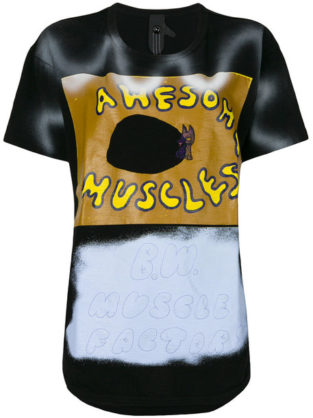 Bernhard Willhelm - Awesome Muscles T-shirt - women - Cotton - S, Cotton