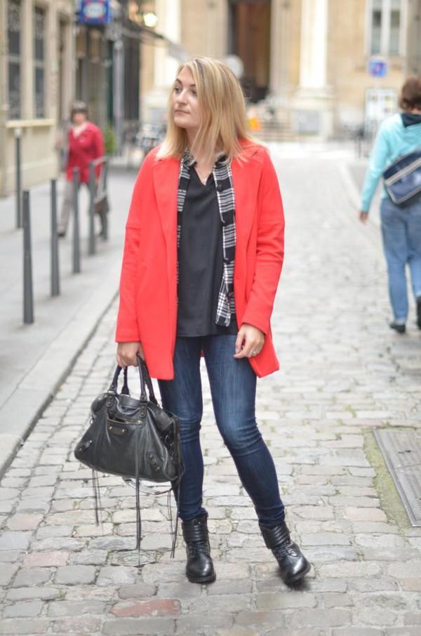 paris grenoble blogger blouse