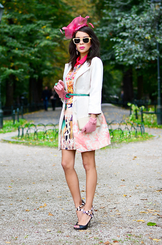 shoes jewels dress sunglasses coat bag macademian girl