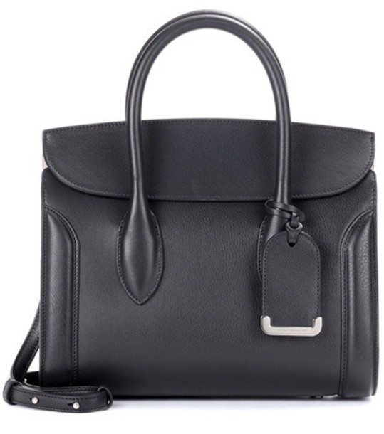 Alexander Mcqueen bag shoulder bag leather black