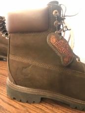 shoes,dark brown timberlands