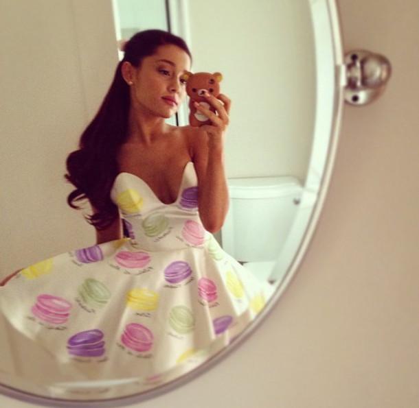 ariana grande macaron dress - photo #5