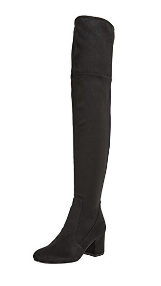 high boots thigh high boots black shoes