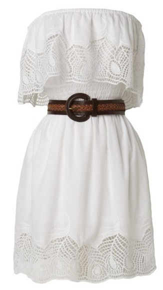 white dress country country dress