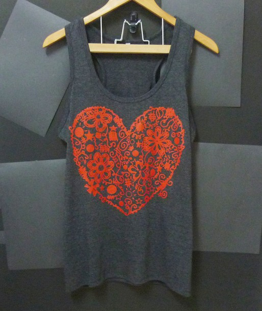 tank top heart