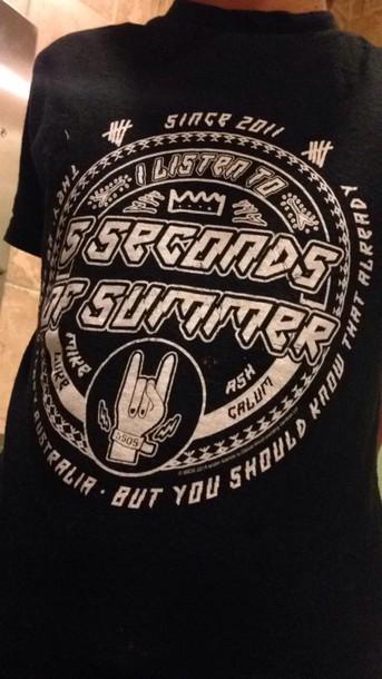 T Shirt 5 Seconds Of Summer 5 Seconds Of Summer 5 Seconds Of