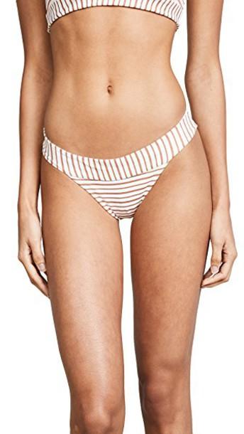 LSpace bikini bikini bottoms space white swimwear