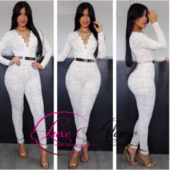 Get the look : laced appeal