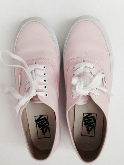 shoes vans pink