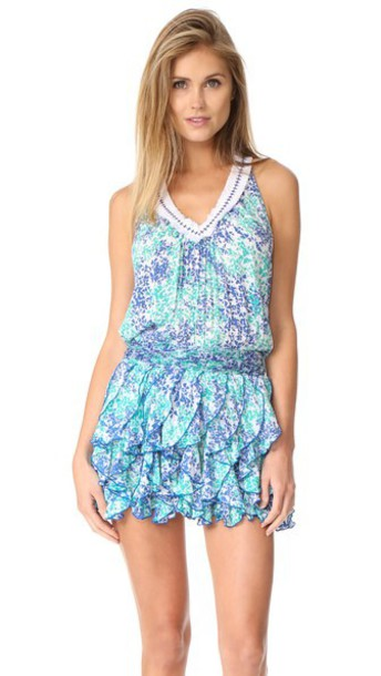 Poupette St Barth dress aqua