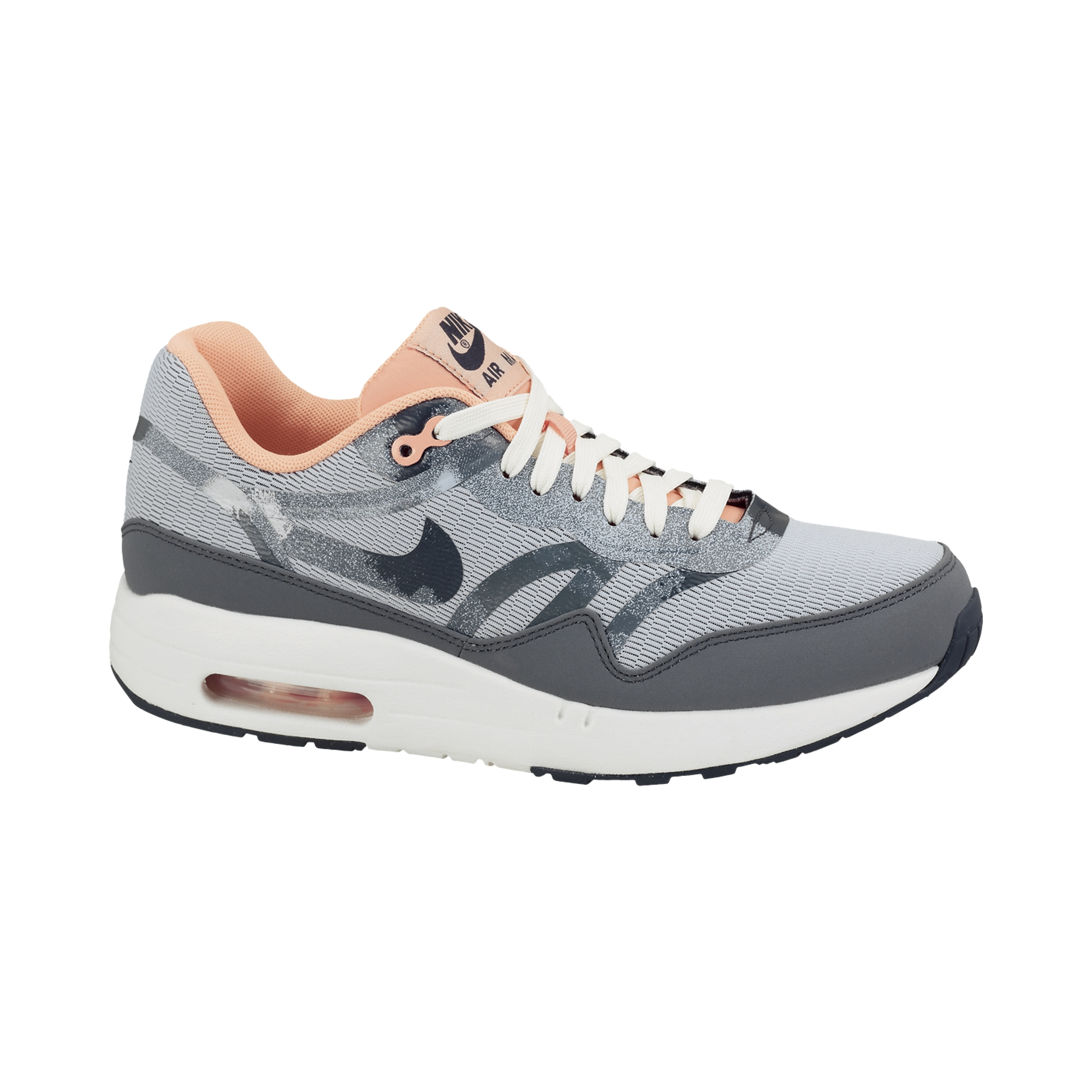 finest selection 6cb0b 189ba Nike  Air Max 1 Comfort Premium Tape Sneaker Damen  blau-pin