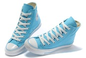 shoes,baby blue all-star converse