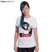 t-shirt,monkey tees y'ello,tees,shirt,monkey