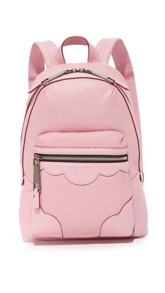fleur backpack pink bag