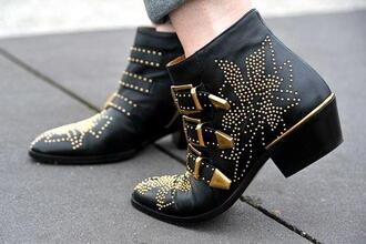 shoes boots fashion boots spiked shoes susanna boots chloe buckle boots