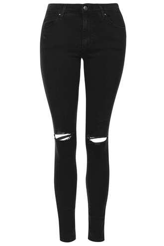 jeans denim black jeans skinny jeans topshop
