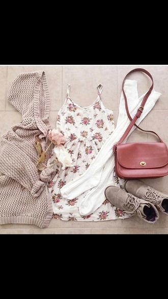 jumpsuit flower floral pink cardigan dress shoes underwear