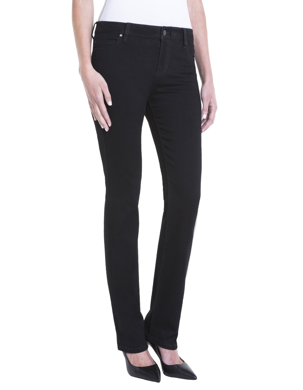 Liverpool Sadie Straight jeans in black